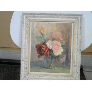 Cadre bouquet de fleurs