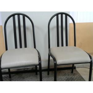 2 Chaises en fer