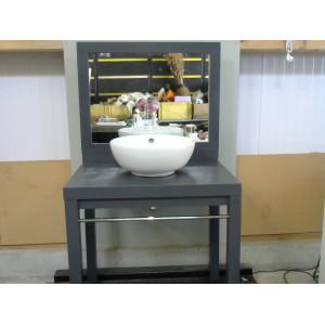 Meuble de SDB avec sa vasque et son miroir