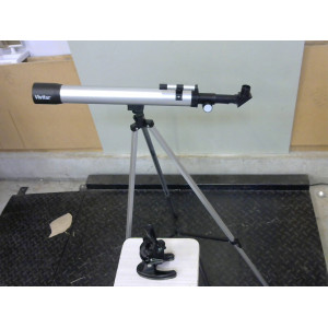 Longue vue et microscope amateur