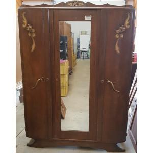 Armoire 3 portes mirroir plus étagère