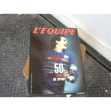 Livres l'Equipe 50 ans / 1946 - 1995