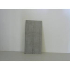 Carrelage industrie gris clair 2m²