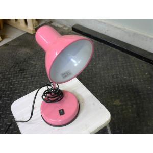 Lampe de bureau rose