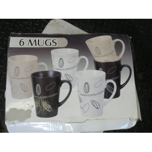Coffret de 6 mugs
