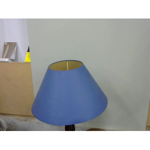abat jour 50 cm bleu