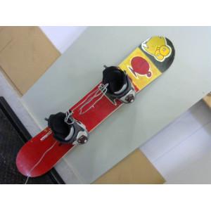 Snowboard backman avec chaussure