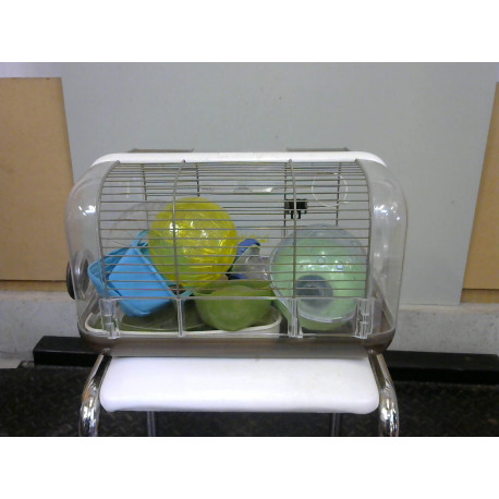 Cage hamster complète