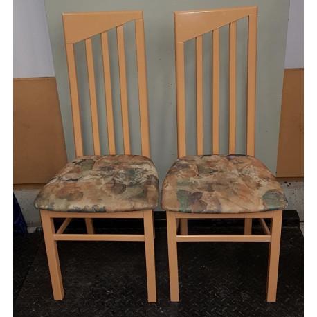 Lot de 2 chaises