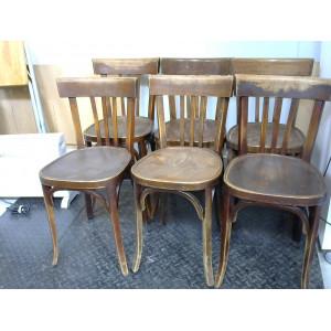 Lot de 6 chaises BAUMANN