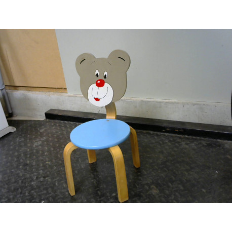 Chaise enfant ours