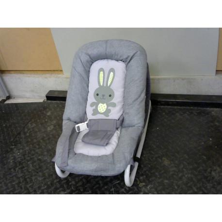 Transat bébé gris