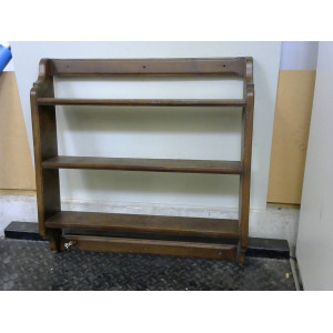 Étagère 3 étages en bois
