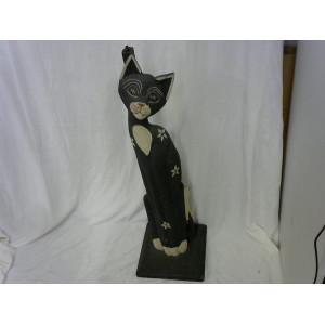 Pied de lampe Chat