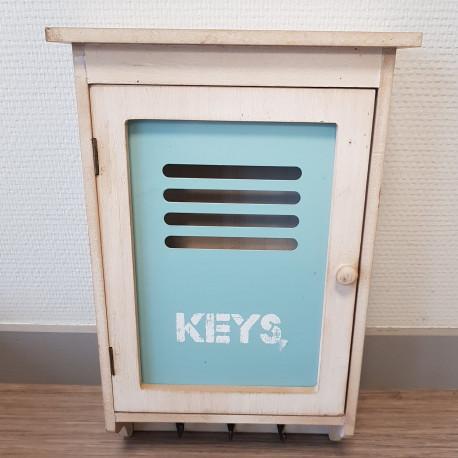 Petite boite à clés en bois
