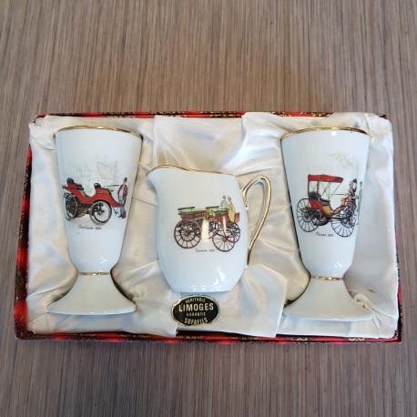 Service en porcelaine de Limoges