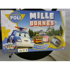 Jeux mille bornes Robocar Poli