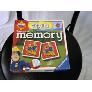 Jeu memory Sam le pompier