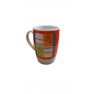 Tasse à café orange