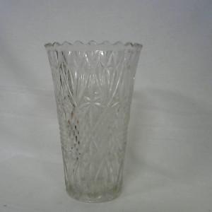Vase haut en verre