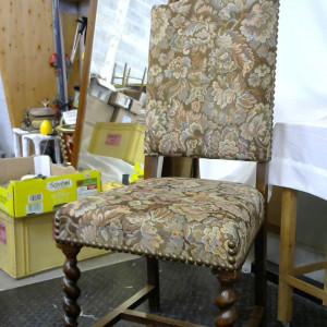 Lot de 6 chaises tapissier