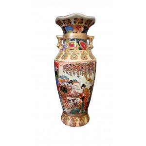 Pot décoratif asiatique