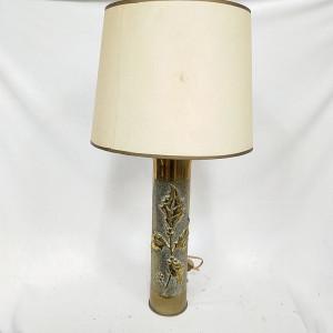 Lampe douille en cuivre